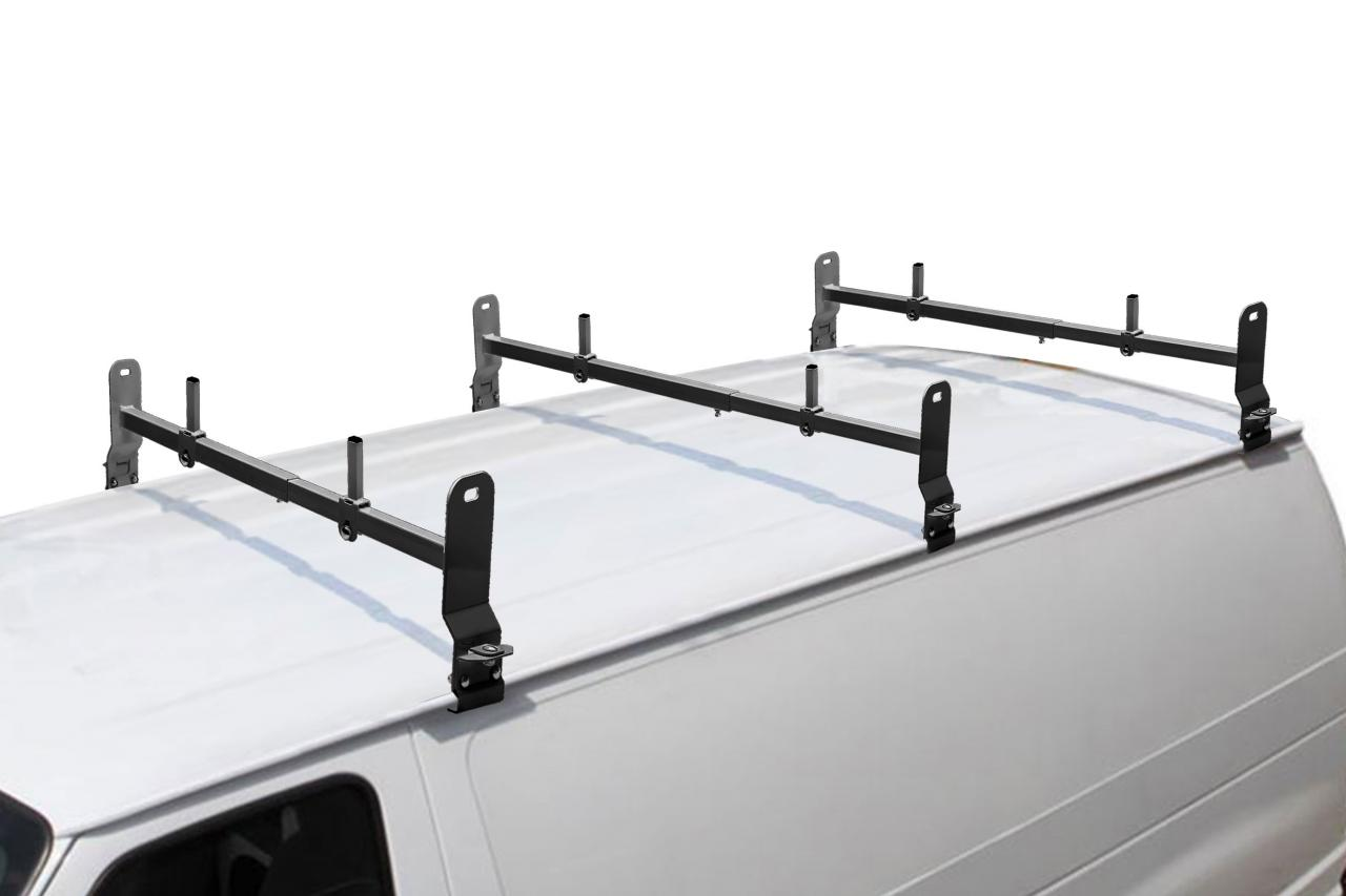 Van Rack, 3 pc, Black