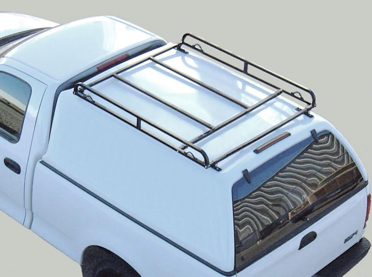 Short Bed Canopy Truck Rack on Topper