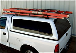 Short Bed Canopy Truck Rack Carrying Large Ladder