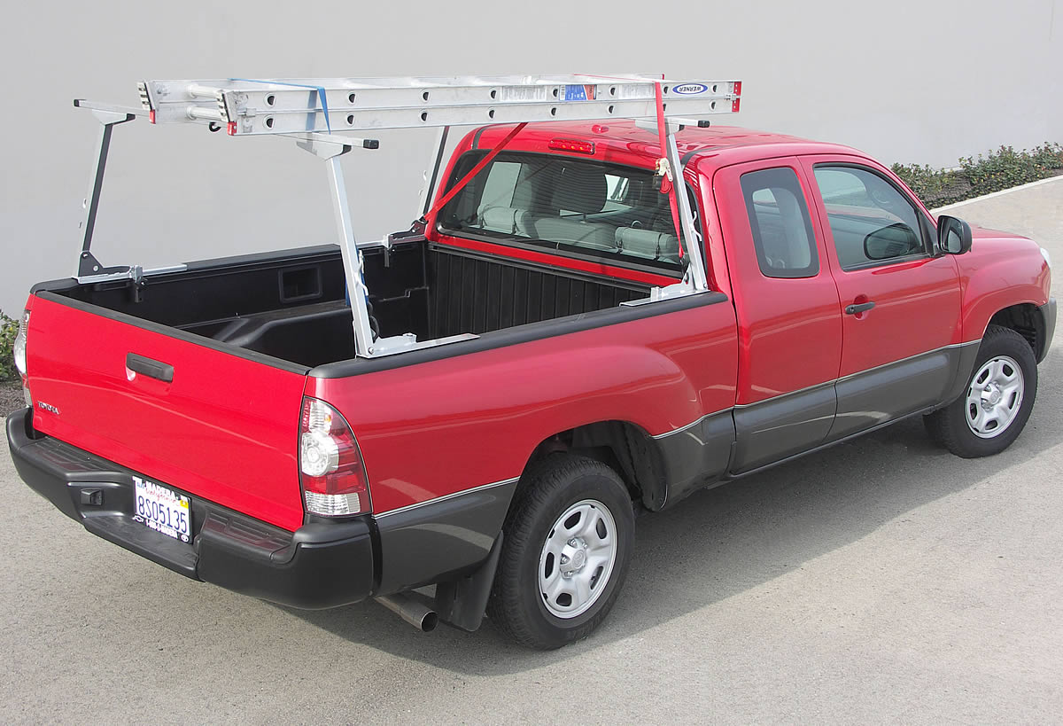 As a Ladder Rack the Paddler carries any cargo up to 300 lbs and adjusts in width to fit any size truck
