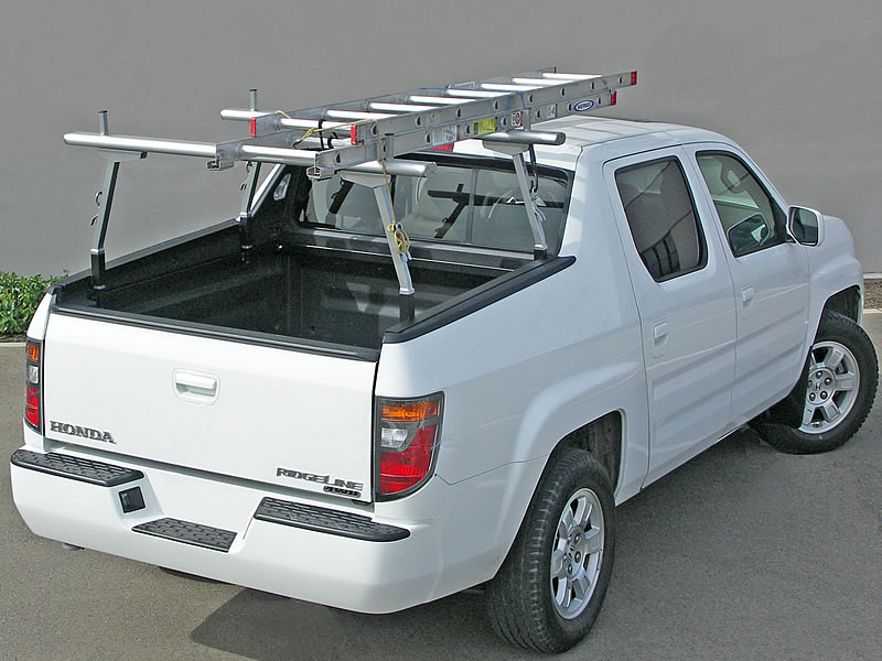 The Honda RidgeLine Rack 2 is always ready to go for even simple jobs