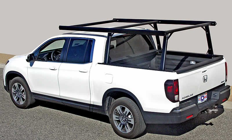 The Ridge Rack 6 is designed specifically for the 2017 and 2018 Honda Ridgelines