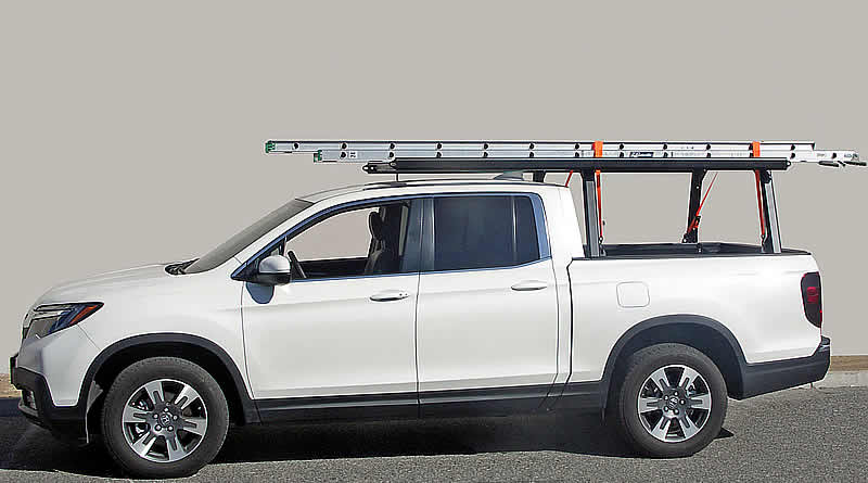 The RidgeLine Rack 6 is designed to carry longer loads such as ladders, canoes, and Kayaks.