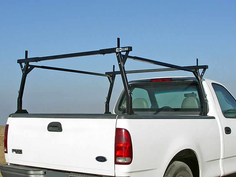 This Stake Pocket Truck Rack is ready to load