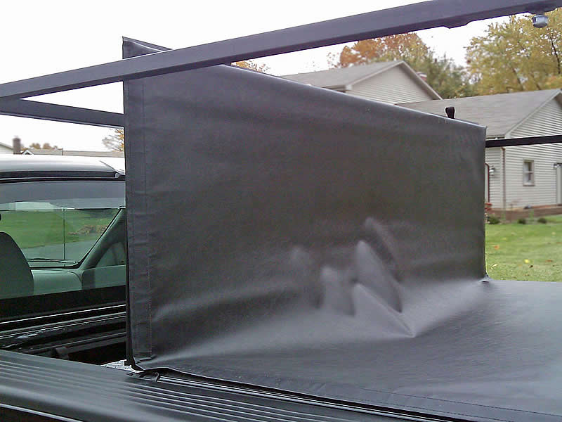 Our Extra-Wide Racks work with Sectional Tonneau Covers