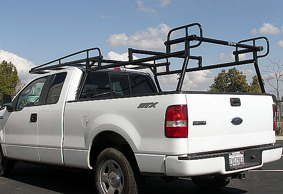 Available with optional rack cross-bar over the middle of the bed