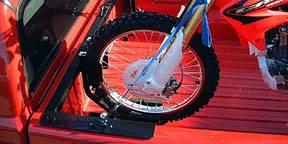 MOTORCYCLE GRIP TRUCK RACK