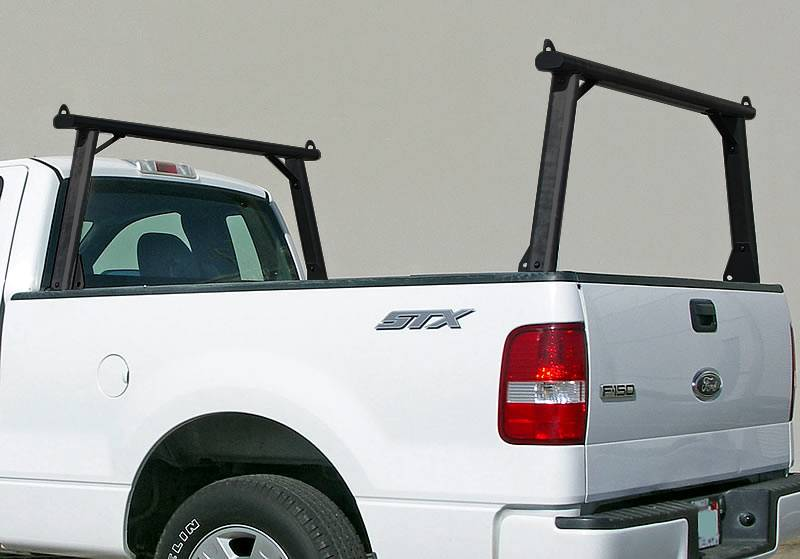 Clipper Truck Rack, Fleetside, All Black Cross Bar, Legs and Base - PN #82210011