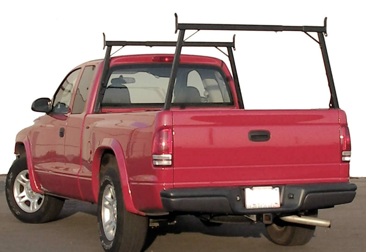Rail Rack 1 for Cabs Over 24 Inches, Fleetside, Black - PN #83110311