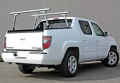 2006-2014 Honda Ridgeline 2 Rack, Brushed, Silver - PN #83460153