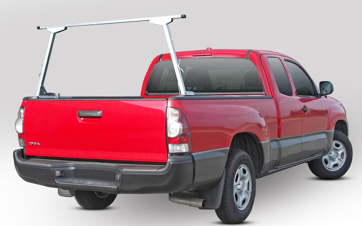 Paddler Truck Rack for Cabs Over 24 Inches, Fleetside, Half Set w/ 1 Rack Only, With Thule Accessory Compatible Cross Bars - PN #83010313