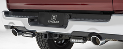 BED COVER TRUCK RACK - Rear Bumper LED Mounts