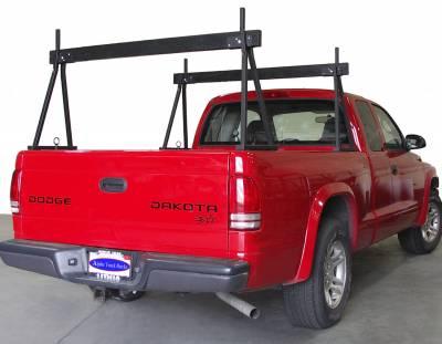 Hawaiian Sawhorse Truck Rack, Fleetside, All Cab Heights, All Bed Lengths, Black - PN #82710011 - Image 4