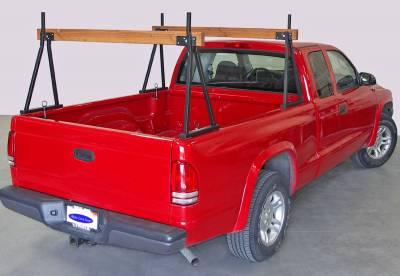 Hawaiian Sawhorse Truck Rack, Fleetside, All Cab Heights, All Bed Lengths, Black - PN #82710011 - Image 5