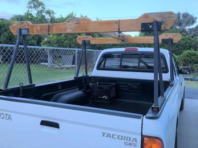 Hawaiian Sawhorse Truck Rack, Fleetside, All Cab Heights, All Bed Lengths, Black - PN #82710011 - Image 9
