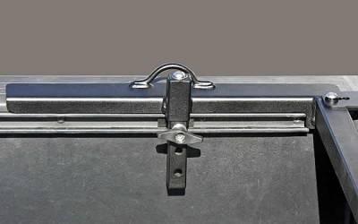 Motorcycle Grip Truck Rack 2 Wheel Chocks, Black - PN #82810711 - Image 6