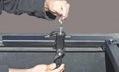 Motorcycle Grip Truck Rack 2 Wheel Chocks, Black - PN #82810711 - Image 9