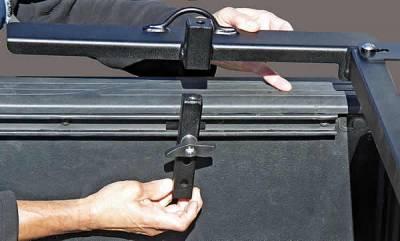Motorcycle Grip Truck Rack 3 Wheel Chocks, Black - PN #82810811 - Image 7