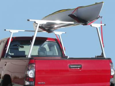 Paddler Truck Rack for Cabs Under 24 Inches, Fleetside, With Thule Accessory Compatible Cross Bars - PN #82910213 - Image 3
