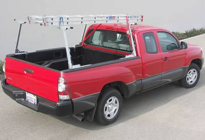 Paddler Truck Rack for Cabs Under 24 Inches, Fleetside, With Thule Accessory Compatible Cross Bars - PN #82910213 - Image 4