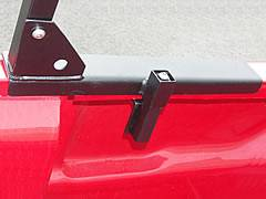 Paddler Truck Rack for Cabs Under 24 Inches, Fleetside, With Thule Accessory Compatible Cross Bars - PN #82910213 - Image 6