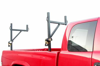 Sidewinder Truck Rack, Fleetside, Black - PN #84110010 - Image 2