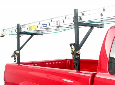 Sidewinder Truck Rack, Fleetside, Black - PN #84110010 - Image 3