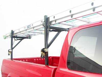 Sidewinder Truck Rack, Fleetside, Black - PN #84110010 - Image 4