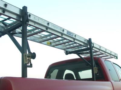 Sidewinder Truck Rack, Fleetside, Black - PN #84110010 - Image 5