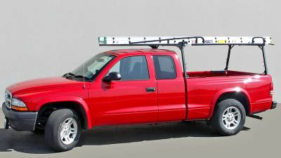 Rail Rack 2 for Cabs Under 24 Inches, Long Bed, Fleetside, Black - PN #83210231 - Image 4