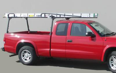 Rail Rack 2 for Cabs Under 24 Inches, Long Bed, Fleetside, Black - PN #83210231 - Image 5