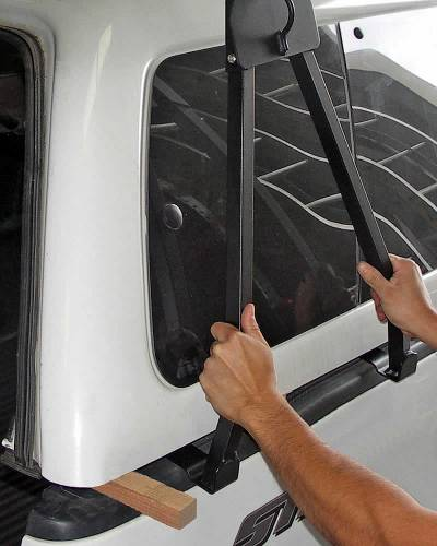 Truck Cap Rack for Caps Under 27 Inches,Wide Bed Rails - PN #84415011 - Image 5