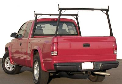 Rail Rack 1 for Cabs Over 24 Inches, Fleetside, Black - PN #83110311 - Image 1