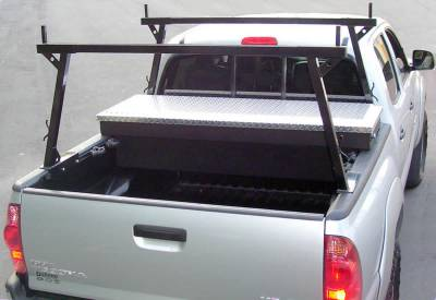 Rail Rack 1 for Cabs Over 24 Inches, Fleetside, Black - PN #83110311 - Image 7
