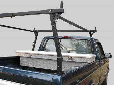 Stake Pocket Truck Rack for Cabs Over 24 Inches, Standard Legs - PN #84210311 - Image 4