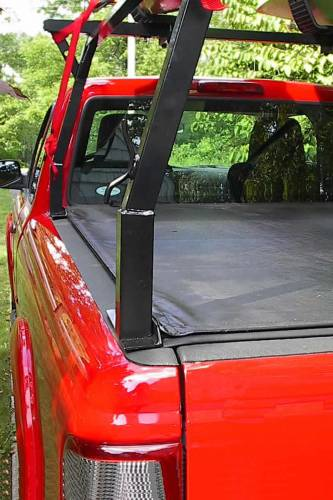 Stake Pocket Truck Rack for Cabs Over 24 Inches, Standard Legs - PN #84210311 - Image 5