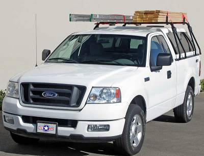Truck Cap Rack for Caps Under 27 Inches, Tapered Width Bed Rails, Wide Front Bed Rails, Standard Width Rear Bed Rails - PN #84315711 - Image 2
