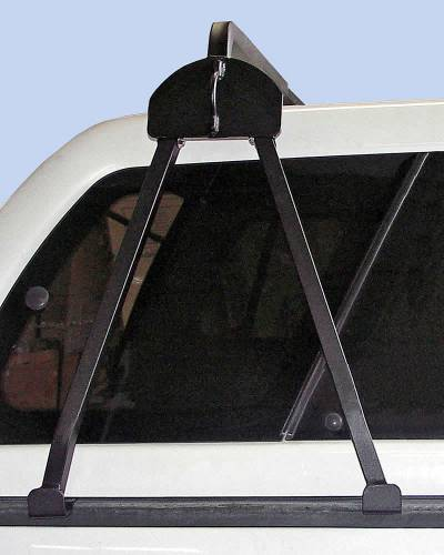 Truck Cap Rack for Caps Under 27 Inches, Tapered Width Bed Rails, Wide Front Bed Rails, Standard Width Rear Bed Rails - PN #84315711 - Image 6