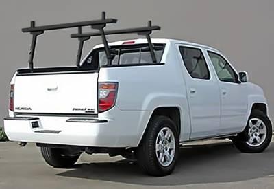 2006-2014 Honda Ridgeline 2 Rack, Black - PN #83460151 - Image 1