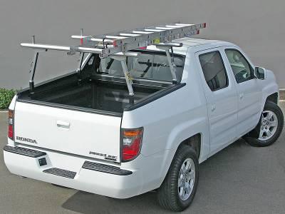 2006-2014 Honda Ridgeline 2 Rack, Brushed, Silver - PN #83460153 - Image 3