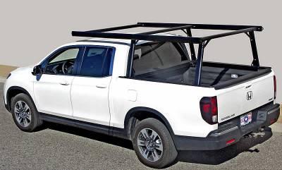 2017-2021 Honda Ridgeline 6 Rack, Black - PN #83860151 - Image 1