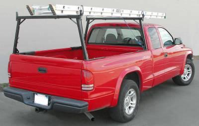 1998-2020 Nissan Frontier Rail Rack 1, Black - PN #83170151 - Image 4