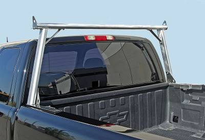 2008-2020 Nissan Titan Clipper Truck Rack, Track System, Brushed Cross Bar and Legs With Bead Blasted Base - PN #82270251 - Image 8