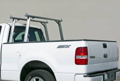 1999-2018 Toyota Tundra Clipper Truck Rack, Track System, Brushed Cross Bar and Legs With Bead Blasted Base - PN #82290410 - Image 3