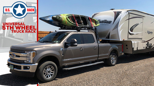 Universal 5th Wheel Truck Rack from US Rack