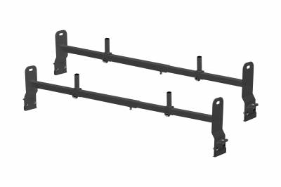 Van Rack, 2 pc, Black, Clamp On Installation - PN #84630211 - Image 2