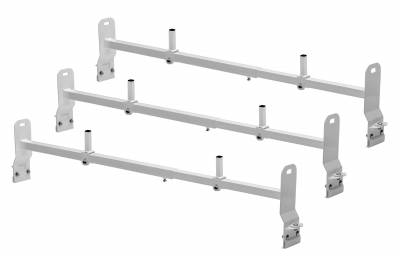 Van Rack, 3 pc, White, Clamp On Installation - PN #84630314 - Image 2