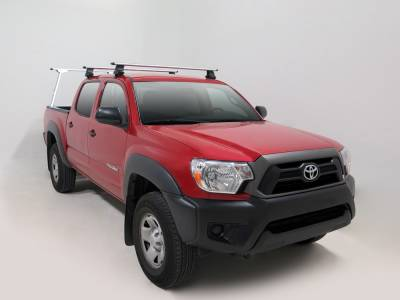 Paddler Truck Rack for Cabs Over 24 Inches, Fleetside, Half Set w/ 1 Rack Only, With Thule Accessory Compatible Cross Bars - PN #83010313 - Image 4