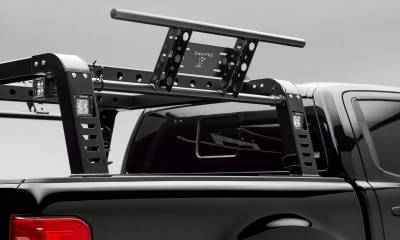 2019-2021 Ford Ranger Overland Access Rack With Two Lifting Side Gates and (4) 3 Inch ZROADZ LED Pod Lights - PN #Z835101 - Image 9