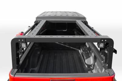 2019-2020 Jeep Gladiator Overland Access Rack With Side Gates, Incl. (4) 3 Inch ZROADZ LED Pod Lights - PN #Z834101 - Image 6